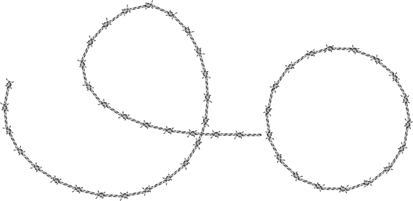 Barbed wire vector brush - Being A Spraylist Item I Can Apply To Any Path And The Just Adjust The Rotation And The Barbed Wire Follows The Path