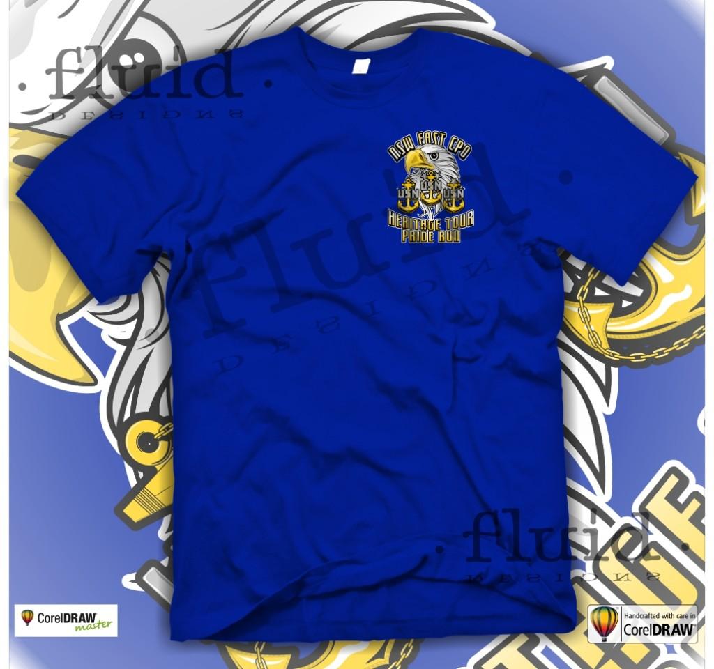 T shirt design using coreldraw - July30th