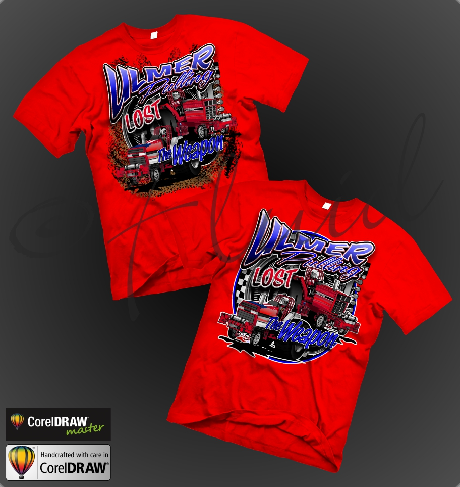 Corel draw vs photoshop for t shirt design - July10th