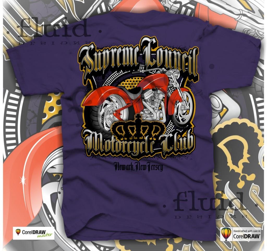 T shirt design using coreldraw - August8th